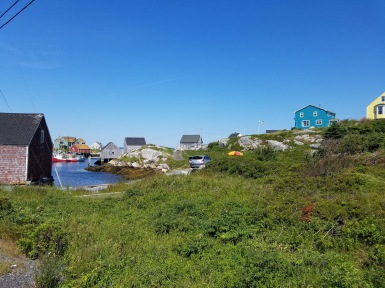 Peggy's Cove town view